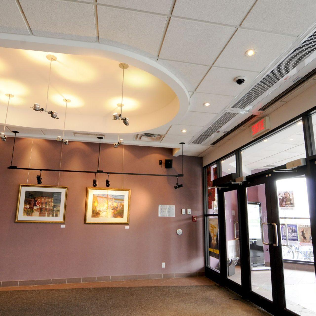 in ceiling ac custom model top image